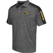 Chiliwear Men's Southern Miss Golden Eagles Grey Birdie Polo