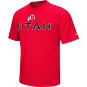 Colosseum Athletics Men's Utah Utes Crimson Pique Performance T-Shirt