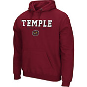 Colosseum Athletics Men's Texas AM Aggies Maroon Performance Fleece Pullover Hoodie