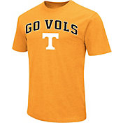 Colosseum Athletics Men's Tennessee Volunteers Tennessee Orange Team Slogan T-Shirt