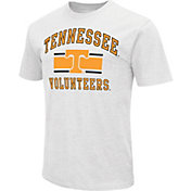 Colosseum Athletics Men's Tennessee Volunteers White Dual-Blend T-Shirt