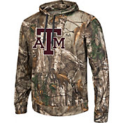 Colosseum Athletics Men's Texas AM Aggies Camo Breech Pullover Hoodie