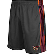 Colosseum Athletics Men's Virginia Tech Hokies Grey Layup Shorts