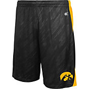 Colosseum Athletics Men's Iowa Hawkeyes Black Sleet Performance Shorts