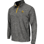 Colosseum Athletics Men's Wichita State Shockers Grey Action Pass Quarter-Zip