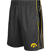 Colosseum Athletics Men's Iowa Hawkeyes Grey Layup Shorts