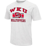 Colosseum Athletics Men's Western Kentucky Hilltoppers White Dual Blend T-Shirt
