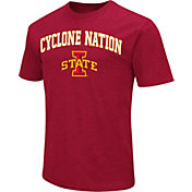 Colosseum Athletics Men's Iowa State Cyclones Cardinal Team Slogan T-Shirt