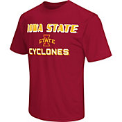 Colosseum Athletics Men's Iowa State Cyclones Cardinal Matrix T-Shirt