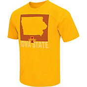 Colosseum Athletics Men's Iowa State Cyclones Gold State of the Union T-Shirt