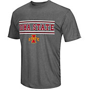 Colosseum Athletics Men's Iowa State Cyclones Grey Matrix T-Shirt