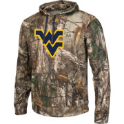 Colosseum Athletics Men's West Virginia Mountaineers Camo Breech Pullover Hoodie