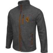 Colosseum Athletics Men's Wyoming Cowboys Grey Backfield II Jacket