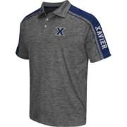 Chiliwear Men's Xavier Musketeers Grey Birdie Polo