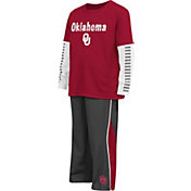 Colosseum Athletics Toddler Oklahoma Sooners Crimson Xenon Set