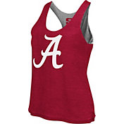Colosseum Athletics Women's Alabama Crimson Tide Grey/Crimson Reversible Tank Top