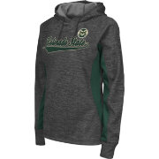 Colosseum Athletics Women's Colorado State Rams Grey Performance Hoodie
