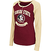 Colosseum Athletics Women's Florida State Seminoles Garnet Healy Long Sleeve Shirt