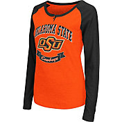 Colosseum Athletics Women's Oklahoma State Cowboys Orange Healy Long Sleeve Shirt