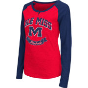 Colosseum Athletics Women's Ole Miss Rebels Red Healy Long Sleeve Shirt