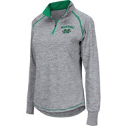 Colosseum Athletics Women's Marshall Thundering Herd Grey Bikram Quarter-Zip