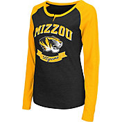 Colosseum Athletics Women's Missouri Tigers Healy Black Long Sleeve Shirt