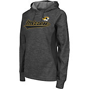 Colosseum Athletics Women's Missouri Tigers Grey Performance Hoodie