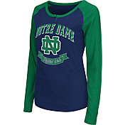 Colosseum Athletics Women's Notre Dame Fighting Irish Navy Healy Long Sleeve Shirt
