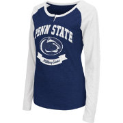 Colosseum Athletics Women's Penn State Nittany Lions Blue Healy Long Sleeve Shirt