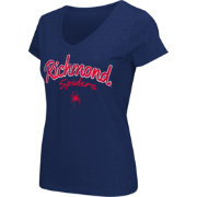 Colosseum Athletics Women's Richmond Spiders Blue Script Graphic V-Neck T-Shirt