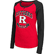 Colosseum Athletics Women's Rutgers Scarlet Knights Scarlet Healy Long Sleeve Shirt