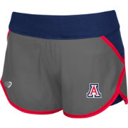 Colosseum Athletics Women's Arizona Wildcats Grey Straddle Performance Shorts