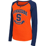 Colosseum Athletics Women's Syracuse Orange Healy Long Sleeve Orange Shirt