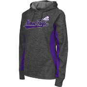Colosseum Athletics Women's TCU Horned Frogs Grey Performance Hoodie