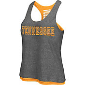 Colosseum Athletics Women's Tennessee Volunteers Grey/Tennessee Orange Reversible Tank Top