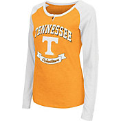 Colosseum Athletics Women's Tennessee Volunteers Tennessee Orange Healy Long Sleeve Shirt