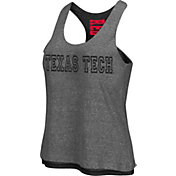 Colosseum Athletics Women's Texas Tech Red Raiders Grey/Black Reversible Tank Top