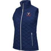 Colosseum Athletics Women's Virginia Cavaliers Blue Elite Quilted Vest