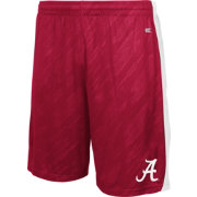 Colosseum Athletics Youth Alabama Crimson Tide Crimson Sleet Performance Shorts