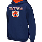 Colosseum Athletics Boys' Auburn Tigers Blue Poly Fleece Hoodie