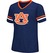 Colosseum Athletics Girls' Auburn Tigers Blue Titanium T-Shirt