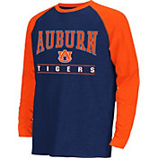 Colosseum Athletics Youth Auburn Tigers Blue Krypton Long Sleeve Shirt