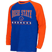 Colosseum Athletics Youth Boise State Broncos Blue Krypton Long Sleeve Shirt
