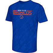 Colosseum Athletics Youth Boise State Broncos Blue Sleet Performance T-Shirt