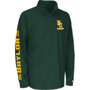 Colosseum Athletics Youth Baylor Bears Green Draft Performance Quarter-Zip