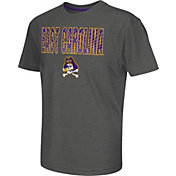 Colosseum Athletics Youth East Carolina Pirates Grey Position T-Shirt