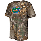 Colosseum Athletics Youth Florida Gators Camo Logo Performance T-Shirt