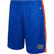 Colosseum Athletics Youth Florida Gators Blue Sleet Performance Shorts