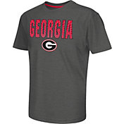 Colosseum Athletics Youth Georgia Bulldogs Grey Position T-Shirt