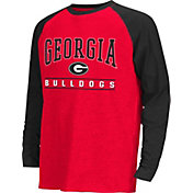 Colosseum Athletics Youth Georgia Bulldogs Red Krypton Long Sleeve Shirt